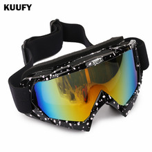 Men Women Skiing glasses UV400 anti-fog big Windproof Snowboard Goggles Gafas de esqui