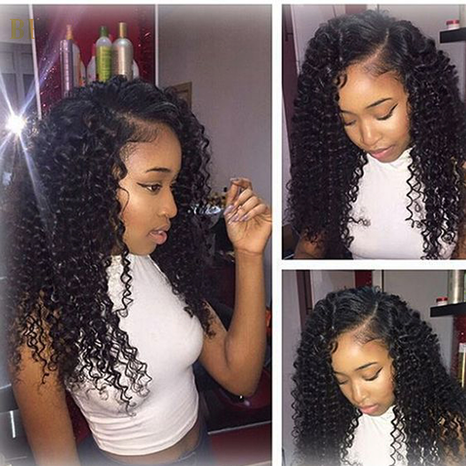 8a Kinky Curly Hair With Closure 4 Bundles With Lace Frontal Peruvian Hair With Closure Queen Hair Frontals With Bundles<br><br>Aliexpress