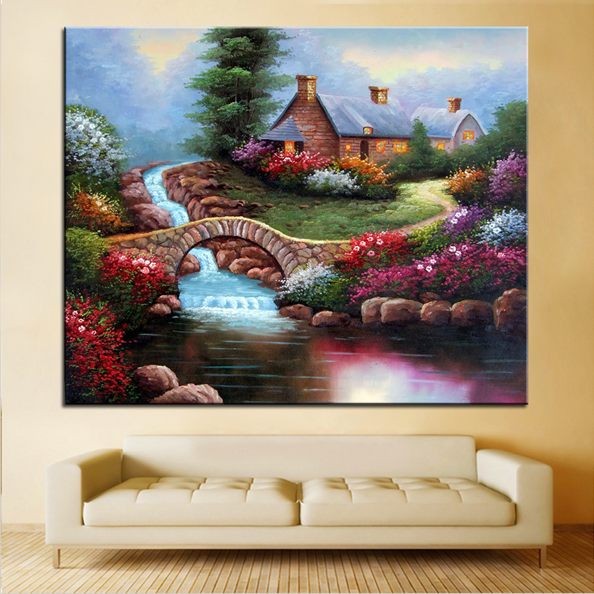 extra large wall painting of home office decoration paint canvas prints no framed canvas wall