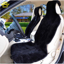 Auto universal fur capes sheared fur Mouton car seat covers set 100% natural fur sheepskin sewn from pieces  2016 sale C001-B