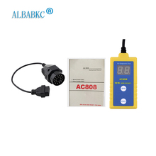 ALBABKC AC808  SRS Airbag Reset Tool Diagnostic Scanner Code Reader Tool For BMW Auto