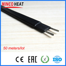 Direct Manufacturer supply self regulating freeze proof water pipe oil pipe heating cable 240V(China)
