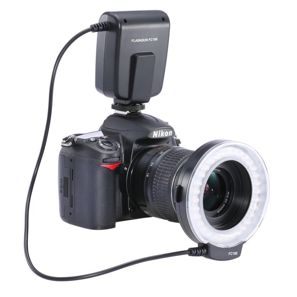 Neewer FC100 MEIKE LED Macro Ring Flash For Nikon Olympus Canon EOS 650D 60D 7D 550D T4i T3i Nikon D7000 D3200 D3100 D5100 D5000<br><br>Aliexpress
