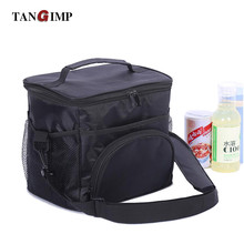 TANGIMP 14L Portable Coolers Insulated Lunch Bag BBQ Picnic Drinks Food Storage Totes Lunchbox Insulation for Men Work lancheira(China)