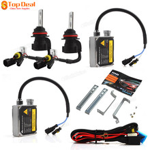HID High Intensity Discharge Lamp Boxed Set with HID-Xenon lights Bulb + Electronic Ballast + HID Wiring Harness Controller