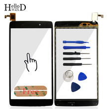 "4.7"" Touch Screen Glass Digitizer Touch Panel Lens Sensor For Alcatel One Touch Idol 3 OT6039 6039 6039Y Flex Cable Adhesive"