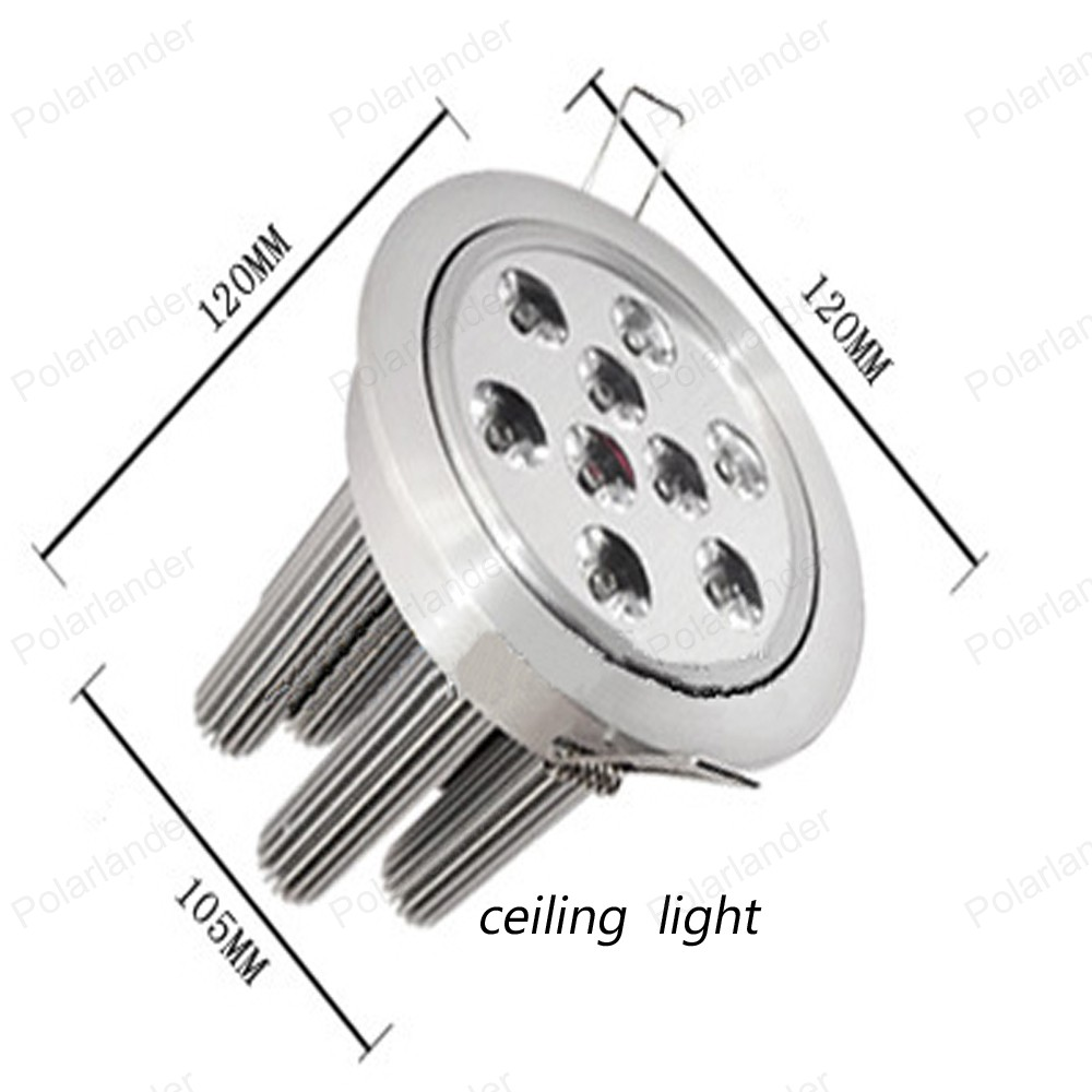 warm white white 27W Led Ceiling Light CE CCC Spot Lamp indoor Home Hotel Restaurant Cabinet Jewelry Showcase Lighting<br><br>Aliexpress