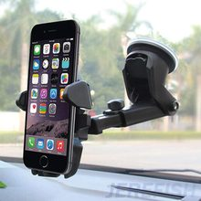 JEREFISH Universal Flexible Long Car-styling Phone Car Holder Stand Support Telephone Voiture for iPhone Xiaomi Phone Holder(China)