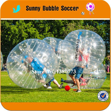 8PCS+2pump 1.2m TPU popular inflatable bumper ball custom bubble soccer american football uniforms/football