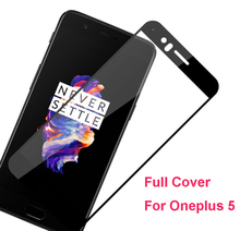 New 0.26mm Full Screen Protection Tempered Glass Film Oneplus 5 Glass Screen Protector For One Plus Five 1+5 9H Hardness