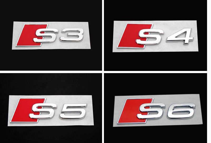 Badge Audi S Line Chinese Goods Catalog ChinaPricesnet - Audi car emblem