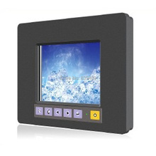 5.6-inch Industrial LCD PC Monitor, Rugged LCD Monitor, USB/RS232 Touchscreen, VESA & Panel Mount, 12V DC IN, OEM/ODM