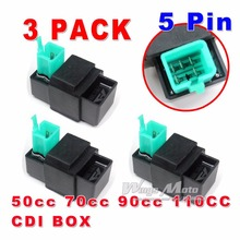 3 PACK 70 90 110 125cc ATV Dirtbike DAX CRF 50 Motorcycle CDI BOX