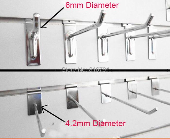 10 Slatwall Panel Display Metal Hook Peg Hanger<br><br>Aliexpress