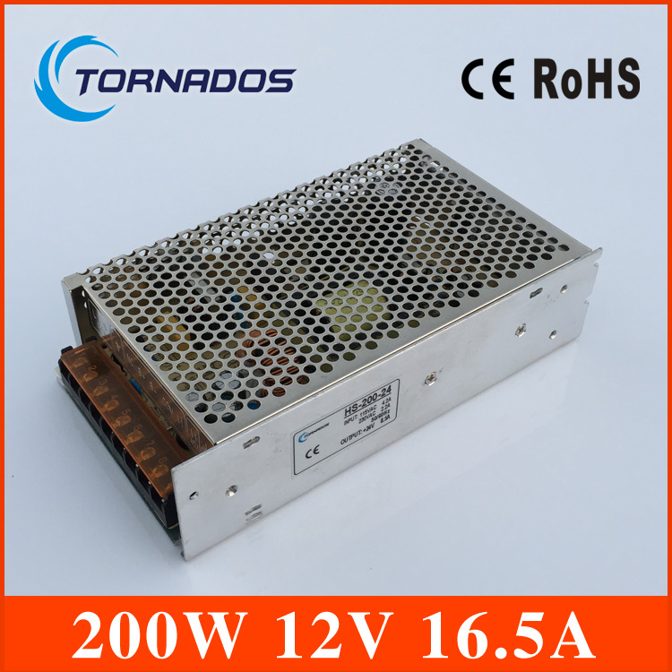 High Quality 12V 16.5A 200W Switch Switching Power Supply for CCTV camera for Security System 110-240V<br>