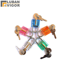 Transparent  lock ,Factory direct sales, Mini padlock /Bags lovers /Colorful small lock