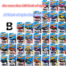 B 1:64 hot wheels Children toy car model A variety of different styles of sports car truck monster car Collection model