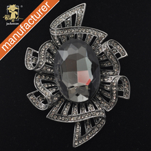 cnjackstraw new fashion big Women rhinestone Royal Crystal Brooch Wedding Elegant Prom Party Gift Jewelry