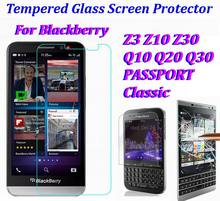 0.3mm Tempered Glass Screen Cover Protector FLIM For blackcerry Classic Q20 Q10 Q30 Q5 Z3 Z10 Z20 Z30 A10 Leap * 500set/lot(China)