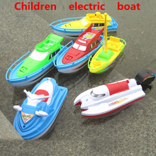Children of non-electric remote control boat, swimming baby toys, plastic products, environmental protection, free shipping