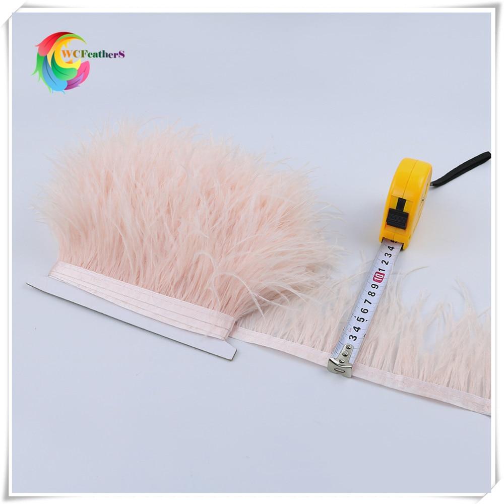 O1 8-10cm ostrich feather trims 5
