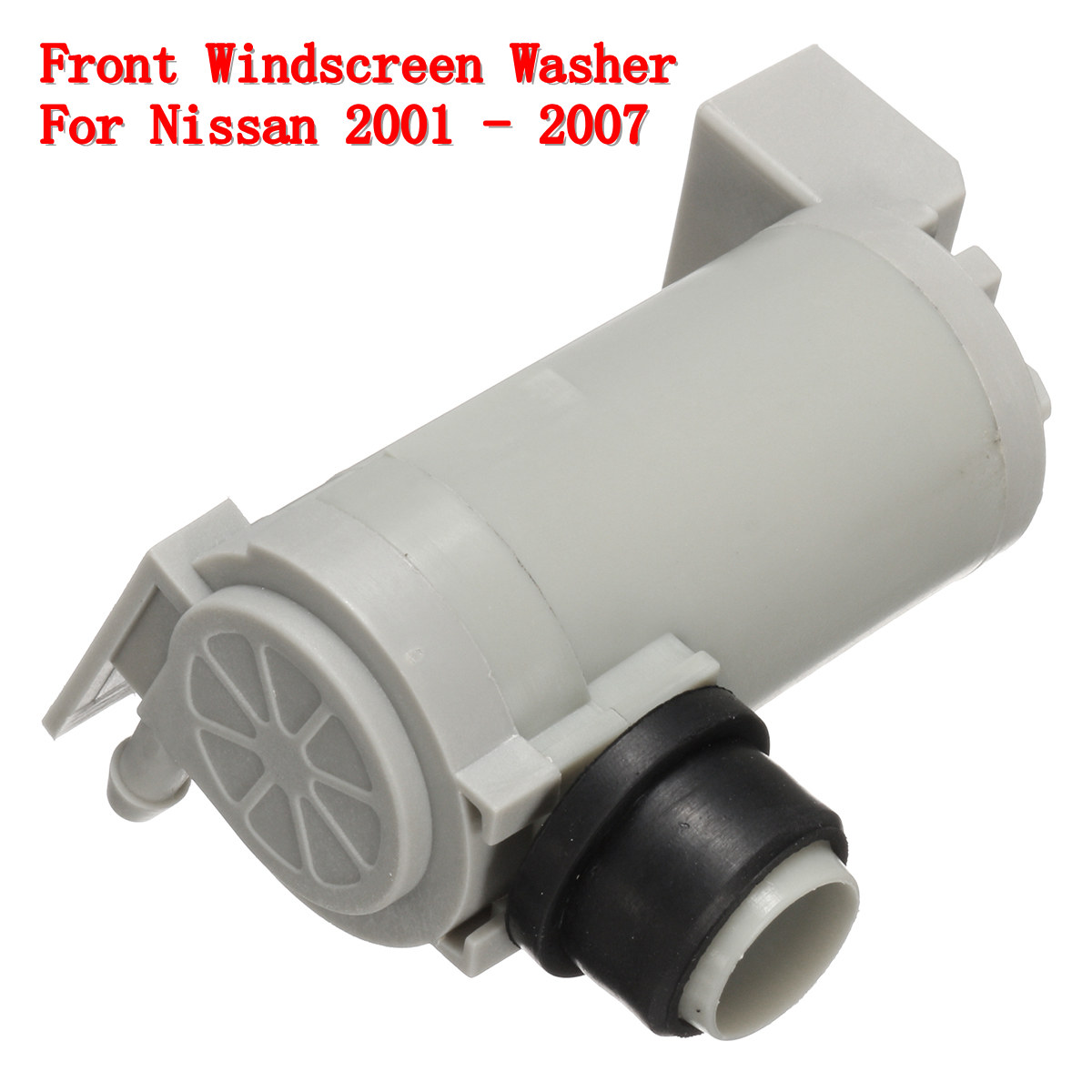 Front Windshield Rear Window Washer Pump For 2001-2007 Nissan Xtrail W//Grommet