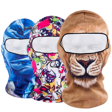 Animal Breathable Balaclava Full Face Mask Bicycle Combat Helmet Linner Hats Cap Halloween Snowboard Party(China)