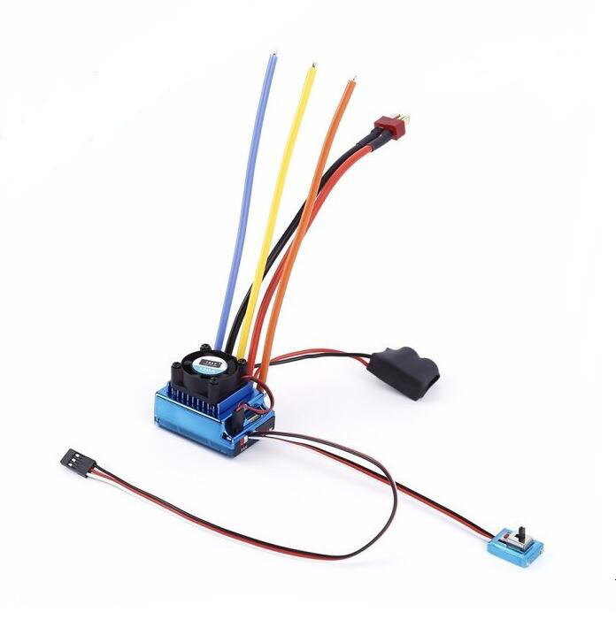 120A Brushless ESC Speed Contoller 1-3s for 1/10 RC Models<br>