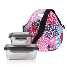 Insulated Portable Lunch Bag Thermal Storage Organizer Tote Food Hangbag with Strap Kids Baby Casual Adjustable Shoulder Bags