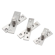 2pcs/set up and downWindow Hinge shaft stainless steel door hinge pivot hinge 17*73mm/19*94mm/25*97mm 360 degree choose(China)