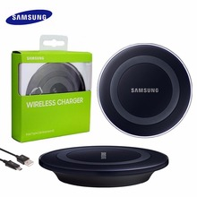 Samsung Wireless Charger, Original QI Charging Pad for Samsung Galaxy S6 S7 S7 Edge Note 5 Note 8, EP-PG920I with cable(China)