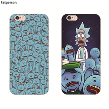 Buy Hot TV Rick Morty phone cover transparent case Apple iphone 6S 8 7 6 Plus 5 5S SE 4 4S 7plus capa para for $1.25 in AliExpress store