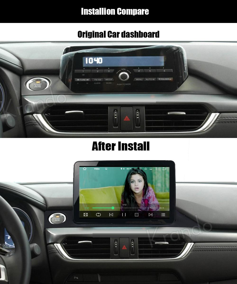 krando mazda 6 atenza android car radio gps dvd player navigation multimedia system