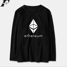 Buy LUCKYFRIDAYF 2018 Ethereum Long Sleeve T Shirt Men/Women Cotton Fashion Printing Streetwear Hip Hop T-shirt Tops Tees Plus Size for $10.39 in AliExpress store