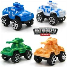 2017 Tank Real Juguetes Oyuncak Plastic Pull Back Diecasts & Toy Vehicles Cars Children Eduional Toys Mini Military War Classic