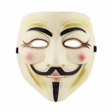 V for Vendetta Anonymous Guy Fawkes Mask Halloween Cosplay 95693