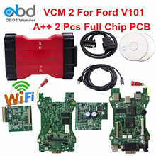 DHL Free VCM II Wifi For Ford Auto Diagnostic Scan Tool VCMII IDS Software V101 For Mazda V94 VCM 2 For Ford Cars 1996 To 2016