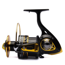Big game fishing reel spinning reel 8000 11BB 4.2:1 front drag BANDO KN2 Black/Gold saltwater fishing tackle
