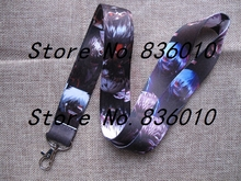Hot Sale! 10 pcs Cartoon Japanese Anime Tokyo Ghoul Key Chains Mobile Cell Phone Lanyard Neck Straps   Favors SZ-609