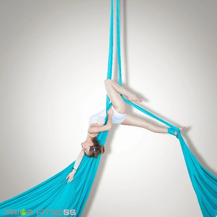 2019 Prior Fitness Deluxe 14mx2 8m Aerial Silk Fabric 100 Nylon Low