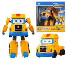 Big Size ABS Super Wings Deformation Airplane Robot Action Figures Super Wing Transformation toys for children gift Brinquedos(China)