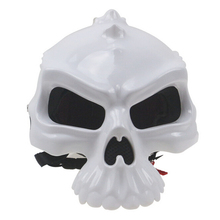 2016 New Version Double-sided Skull Motorcycle Helmet Men and Women Off-road Motocross Half Helmet Free Shipping