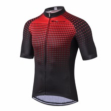 Red Cycle Jersey Men 2017 Cycling Jersey  bike clothing bicycle top Men Ropa Ciclismo maillot MTB jersey Racing Sport T-shirts
