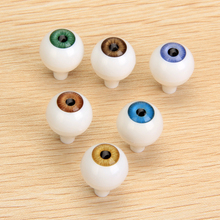 Safety Big Eyes 8 Pcs Round Acrylic Doll Eyes Eyeballs 14/22mm Dolls Accessories for Porcelain Dolls Animals Halloween