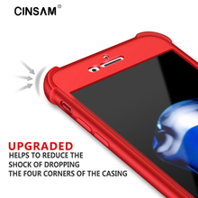 Cinsam 5 pcs wholesales 360 Degree Full Body Protection Air Cushion Corners Phone Case House For iPhone 6 6S 6 Plus 6S 7 7Plus
