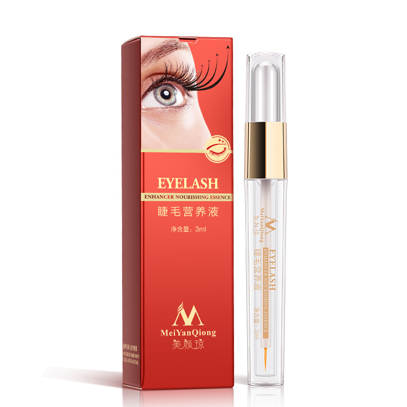 Nature Eyelash Growth Serum Nourishing Fluid Repair Slender Eyelashes Eyebrows Curling Thick Treatments Liquid