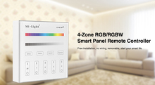 Milight B3 4-Zone RGB/RGBW and brightness dimming Smart Panel Remote Controllerfor led strip light lamp or bulb(China)