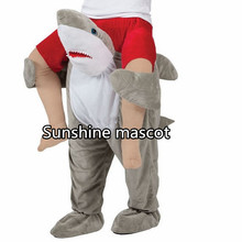 Carry Me Mascot Teddy Bear Stuffed Ride On Me Piggy Back Novelty Stag shark Night Fancy Dress Halloween Costume Purim Party