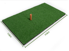 30x60cm small size Golf Training Chipping rubber Driving Practice mat  mini golf exerise mat