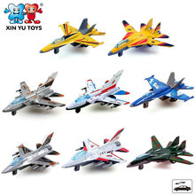 The new 2016 toy alloy boomerang child air force fighter plane model
